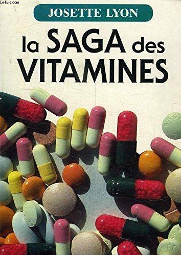 image livre La saga des vitamines