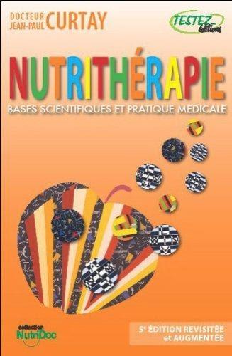 image livre Nutrithérapie Bases scientifiques et pratique médicale