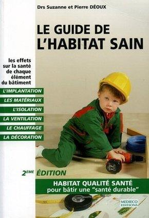image couverture livre guide de l'habitat sain
