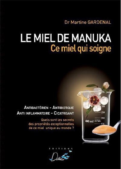 image couverture livre le miel de manuka