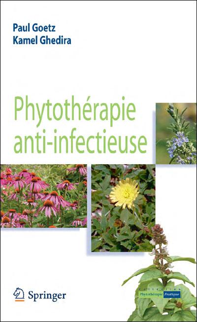 image couverture livre Phytothérapie anti-infectieuse