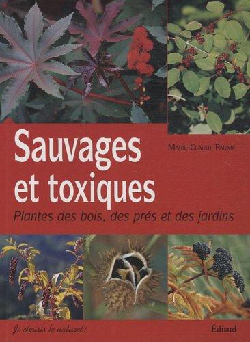 image couverture livre sauvages et toxiques