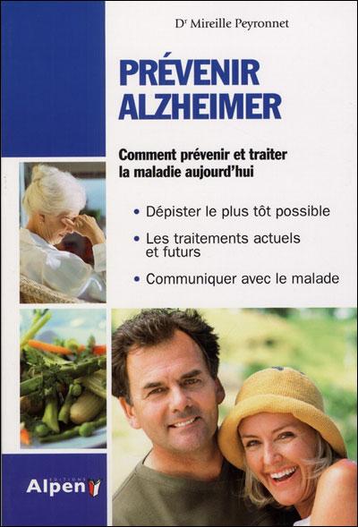 image couverture livre Prévenir d'Alzheimer